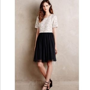 Anthropologie Weston Laced Tulle Dress NWOT